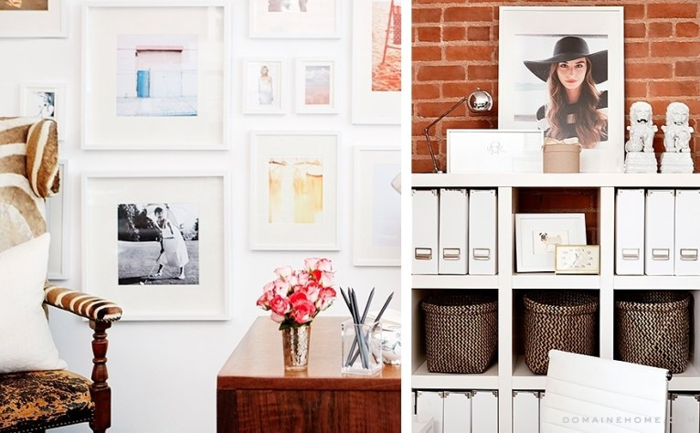 Chic and Clean Office Space