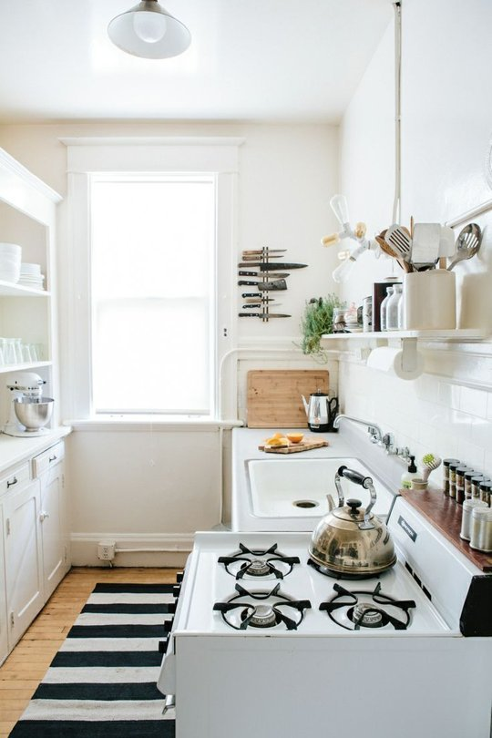 How to save space in a small kitchen