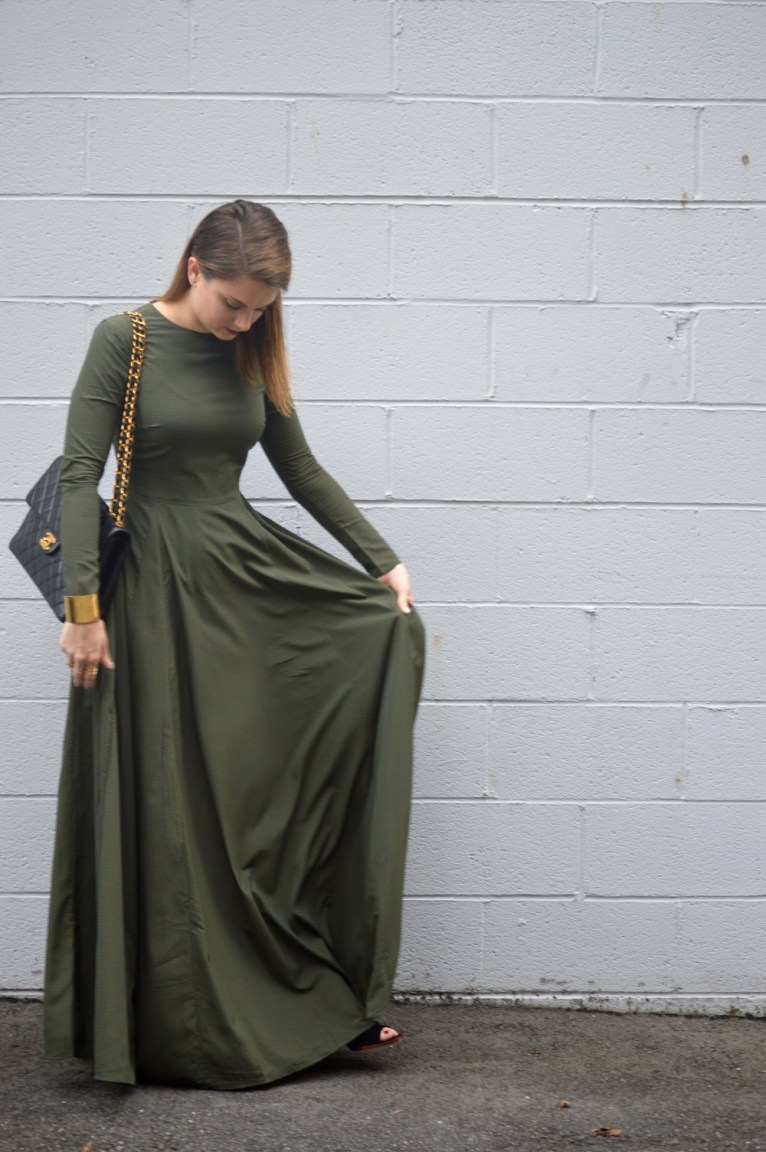 Maxi dress for fall