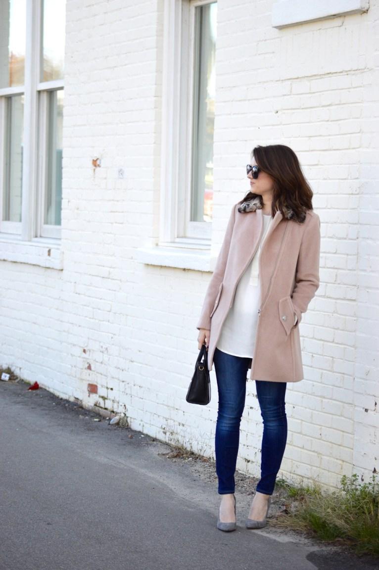 Rebecca Taylor Pink Coat