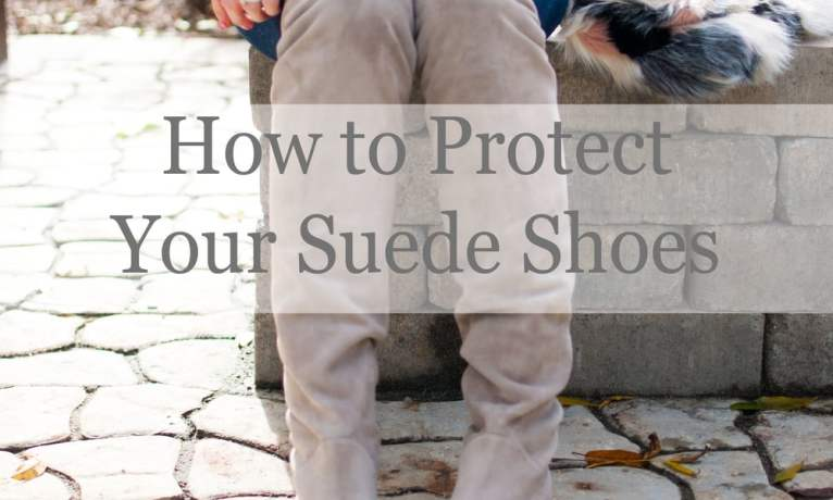 Tidy Tuesday || How to Protect Suede Shoes