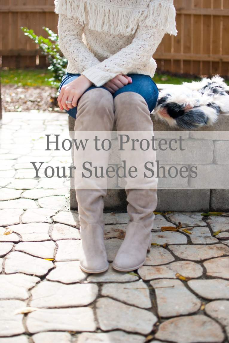 how to protect your suede shoes