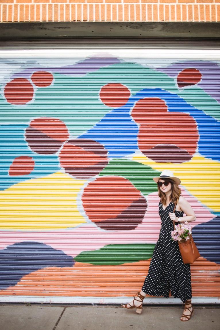 Culotte Jumpsuit || @polishedclosets