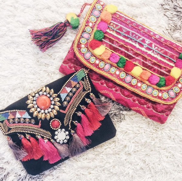 bohemian clutches under $50