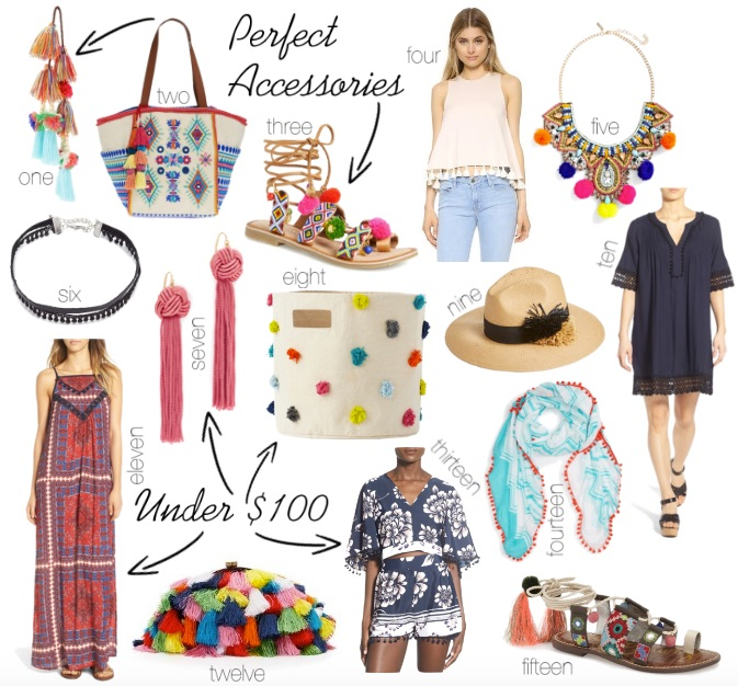 Pom Pom clothes, shoes, and accessories || @polishedclosets
