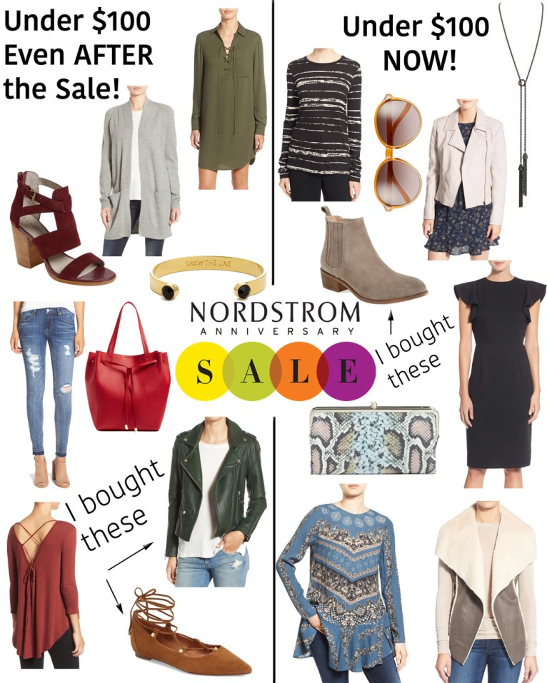 Nordstrom Sale Picks Under $100 || www.polishedclosets.com