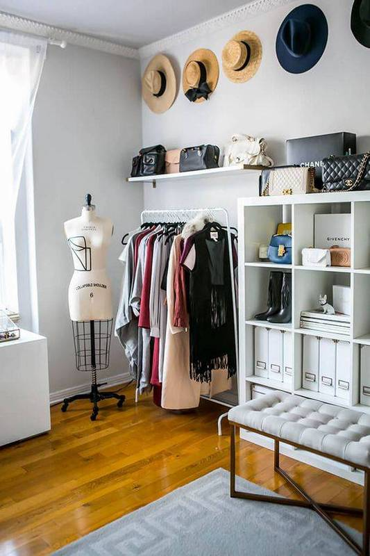 photography by GLITTERGUIDE. Turn a Spare Room into a Walk In Closet   Polished Closets