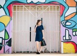 Suede Dress // www.polishedclosets.com