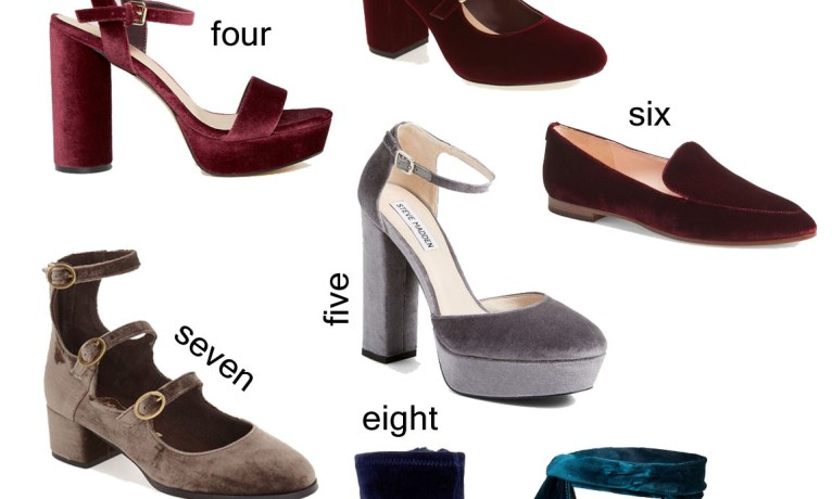 Fall Favorite: Velvet Shoes