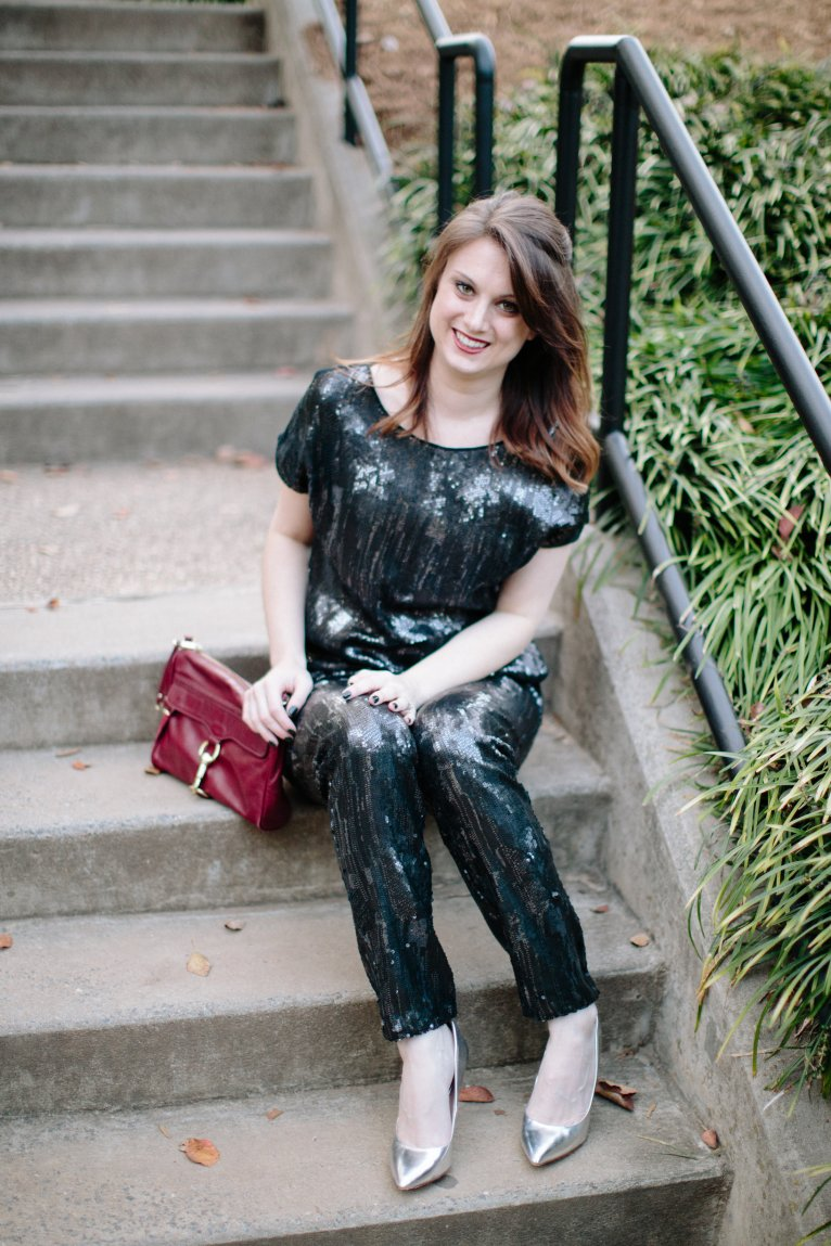 Sequin Outfit for Christmas