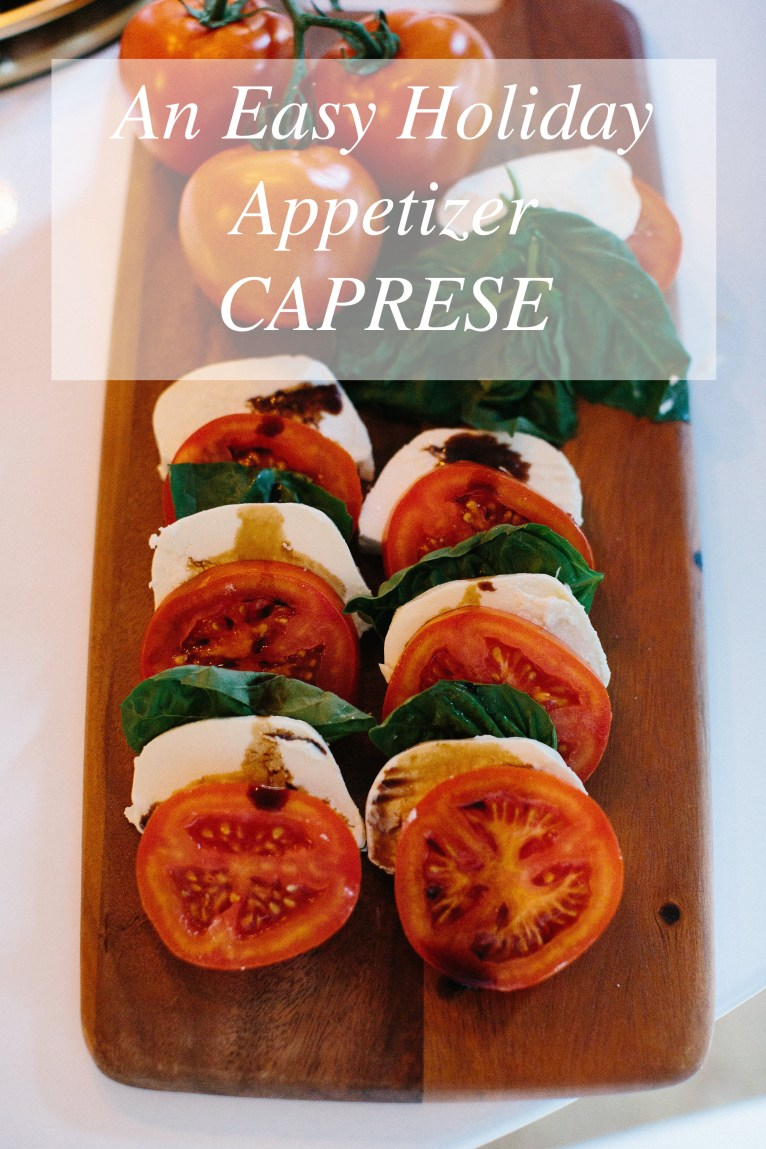 An Easy Holiday Appetizer // www.polishedclosets.com