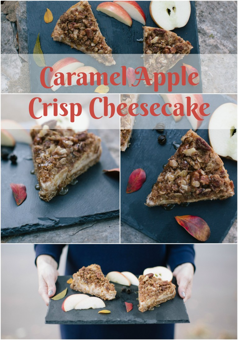 Caramel Apple Crisp Cheesecake recipe