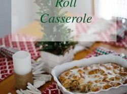 Cinnamon Roll Casserole Recipe // www.polishedclosets.com