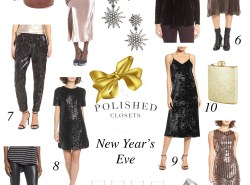 What to Wear on New Year's Eve // www.polishedclosets.com