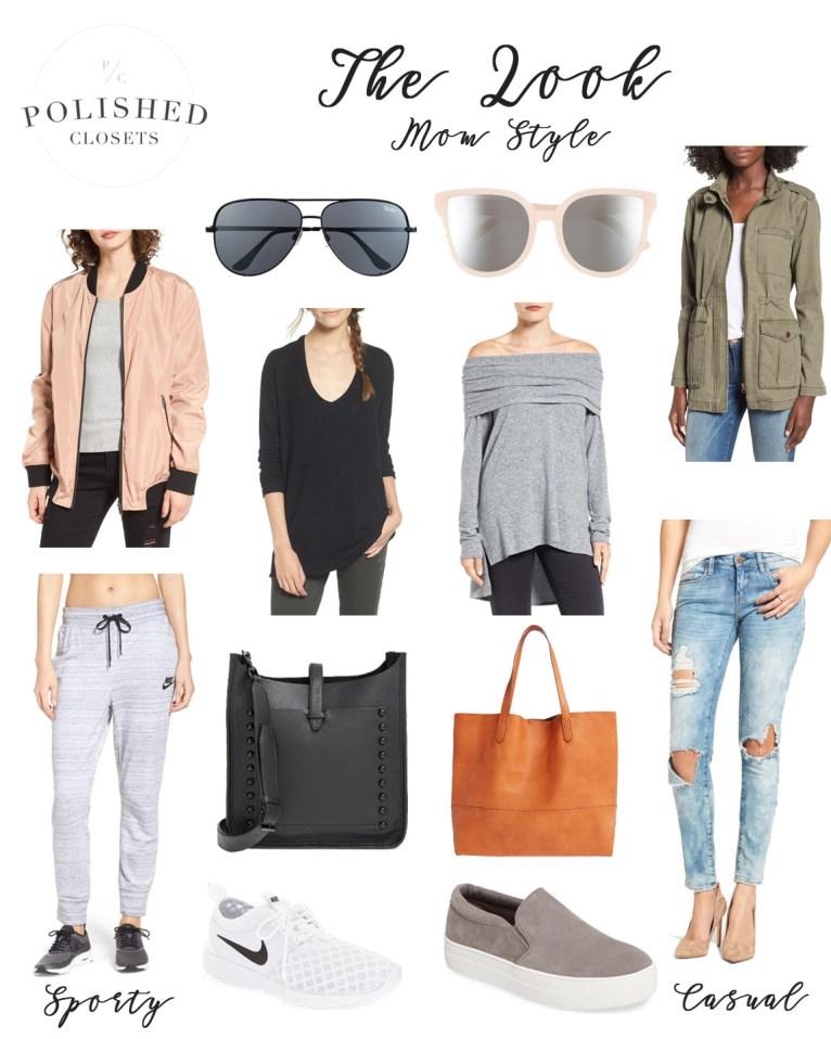 Chic Mom Style // www.polishedclosets.com