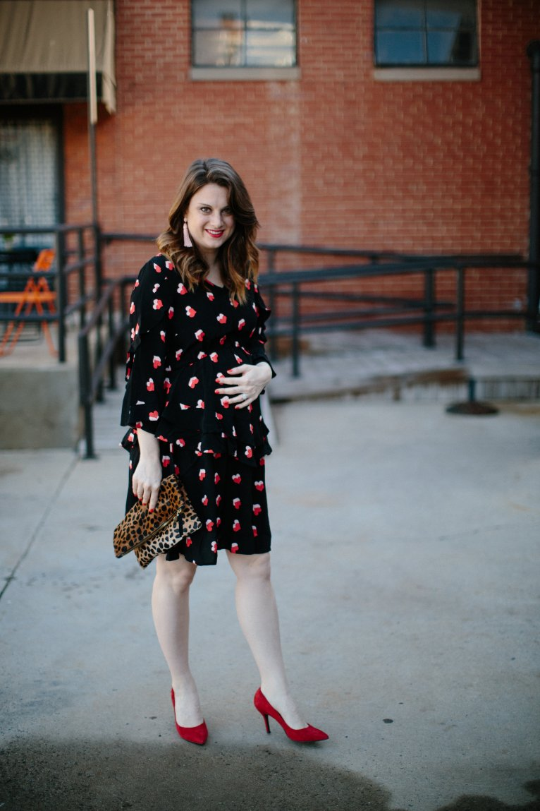 The Cutest Maternity Dress Perfect For Date Nights by Polished Closets