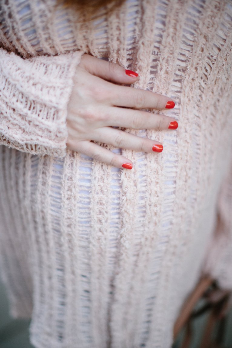 Transitional Light Sweater for Everyday by Polished Closet