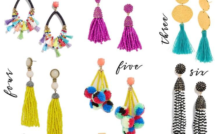 Pick of the Week: 9 Choice Pairs of Tassel Earrings