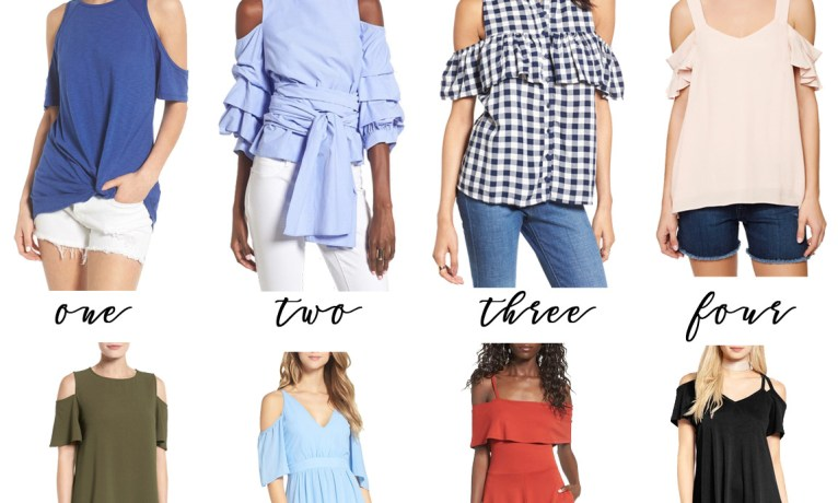 Pick of the Week: Cold Shoulder Tops & Dresses