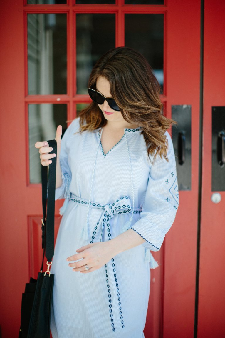 Embroidered Dress + Dressing to Make you Happy by fashion blogger Maggie of Polished Closets