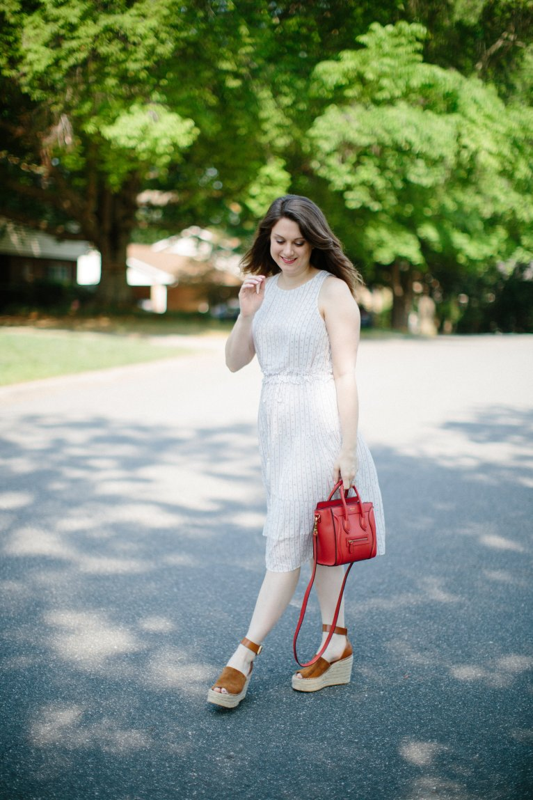 A Closet Staple: The Striped Dress by fashion blogger Maggie of Polished Closets