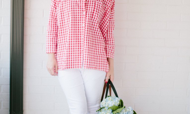 Red Gingham Shirt – Why You NEED it!