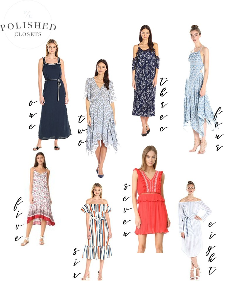 The Best Moon River Dresses by fashion blogger Maggie of Polished Closets
