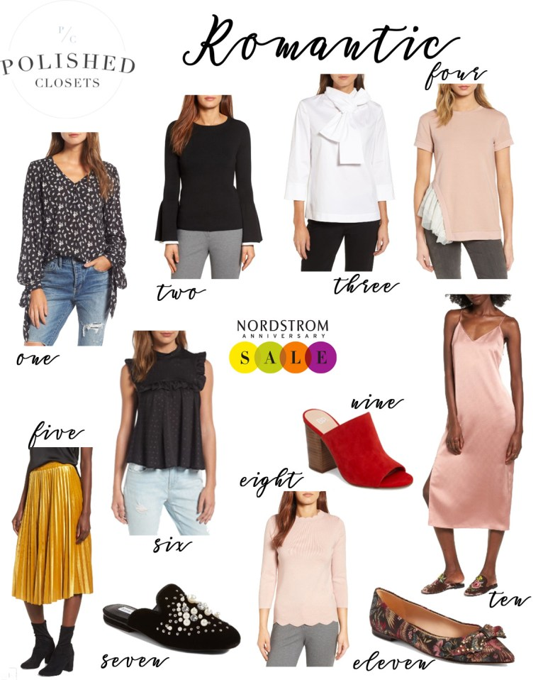 Romantic Style Picks from the Nordstrom Anniversary Sale 2017 by Fashion Blogger Maggie Kern of Polished Closets