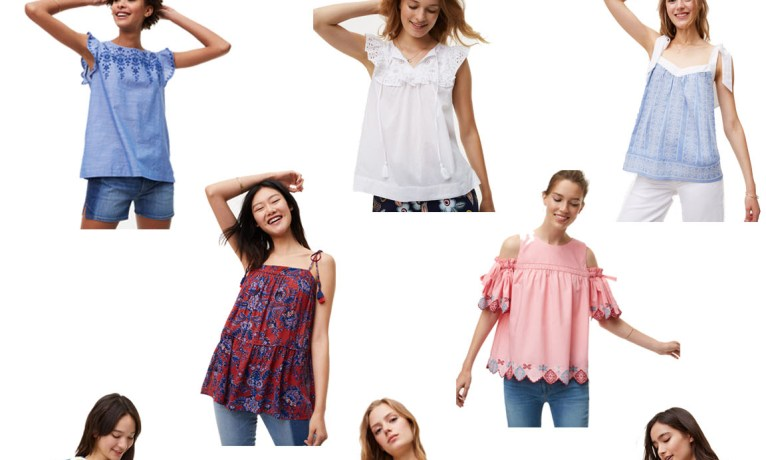Pick of the Week: Pretty Summer Blouses Under $100