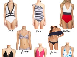 The Best Summer Swimsuits under $100 by Fashion blogger Maggie of Polished Closets