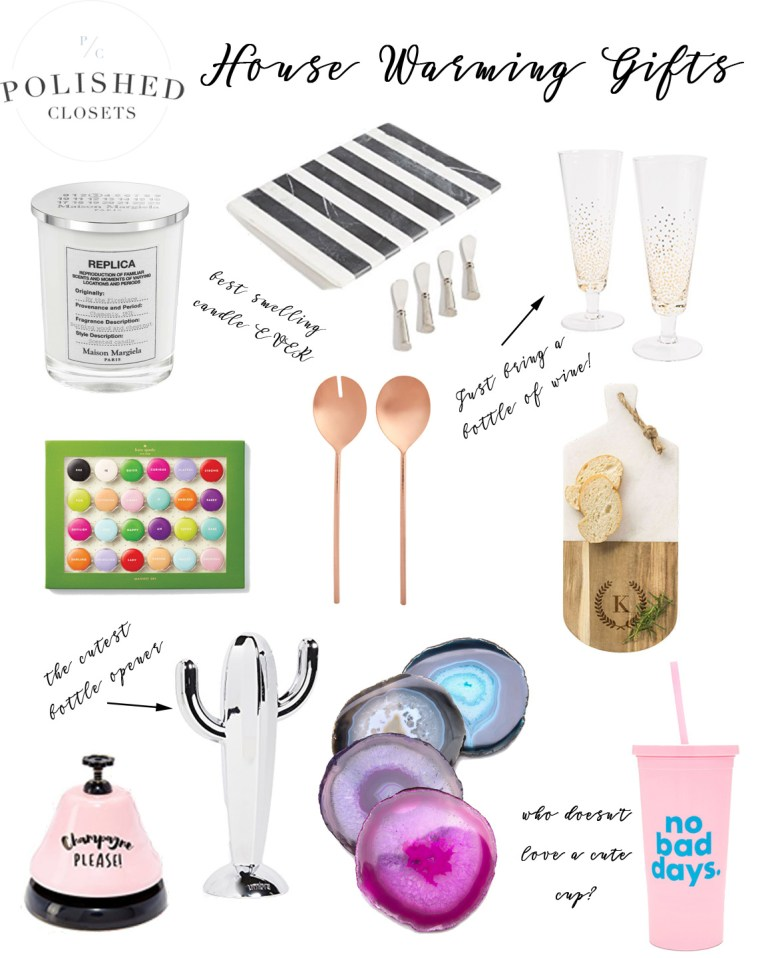 Unique and Fun Housewarming Gifts for the Holiday Season by Lifestyle Blogger Maggie Kern of Polished Closets.