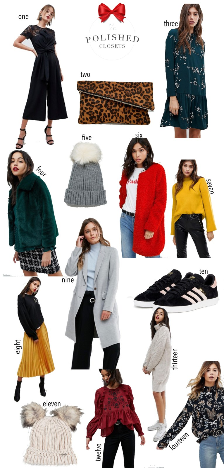 The best Black Friday sales picks from ASOS by fashion blogger Maggie Kern of Polished Closets.