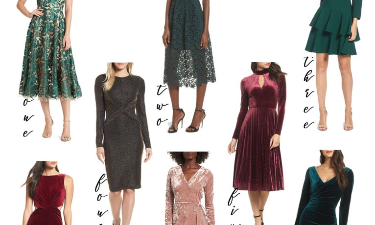 Get Holiday-Ready with these Party Dresses