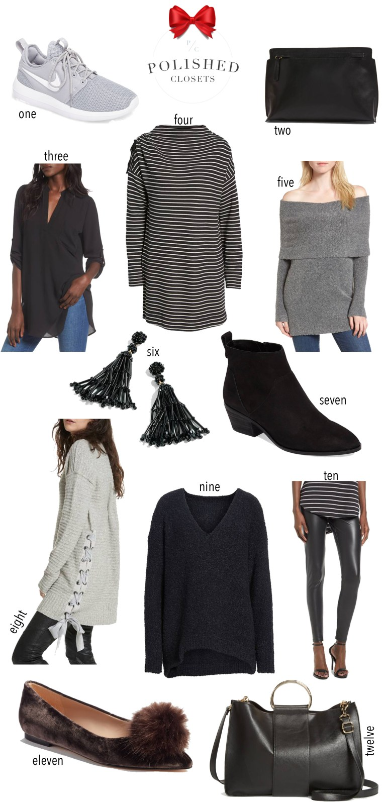 The best picks under $100 from the Nordstrom Black Friday Sale by fashion blogger Maggie Kern of Polished Closets.