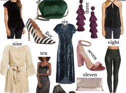 What to Wear on New Year's Eve by Fashion and Lifestyle Blogger Maggie Kern of Polished Closets.