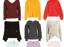 9 Chic and Classic Sweaters Under $100 by fashion blogger Maggie Kern of Polished Closets.