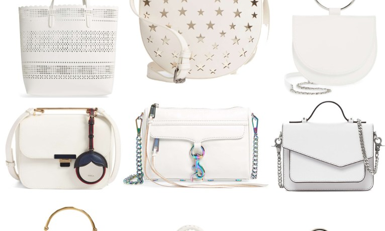 The Top 9 White Handbags for Spring