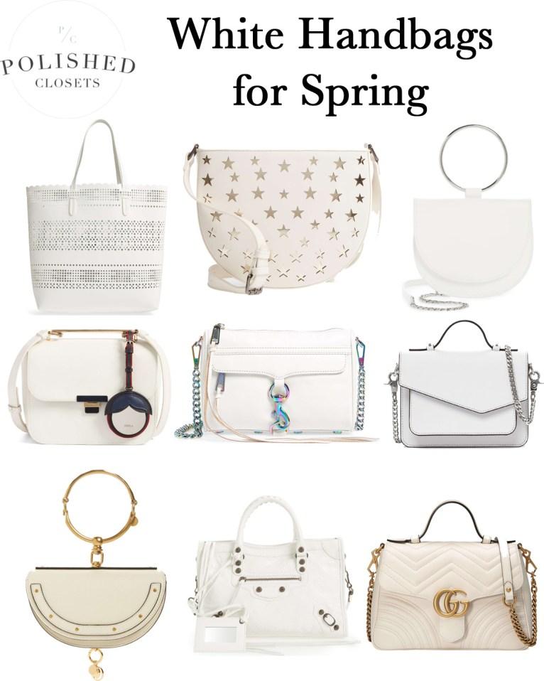 Top 9 White Handbags for Spring