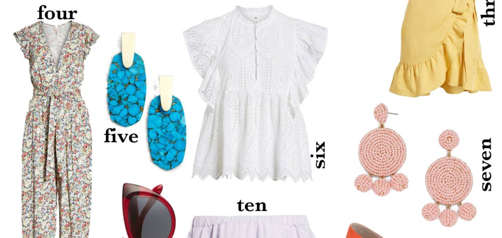 Spring Clothing Trend Preview