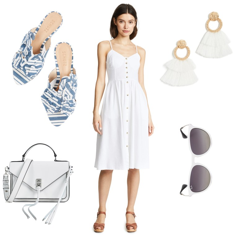 b374f34da White Monochrome Outfit Plus How to Style Monochrome Outfits