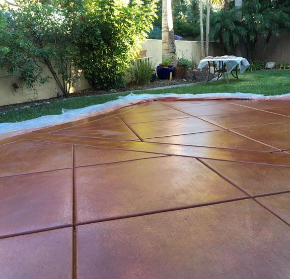 polished concrete houston tx
