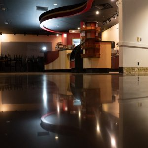 Polished Concrete Showroom