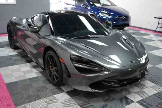 McLaren getting paint correction and ceramic coating
