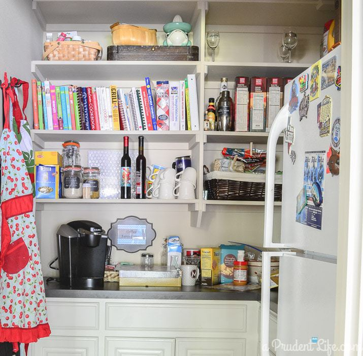 Pantry BEFORE the One Room Challenge