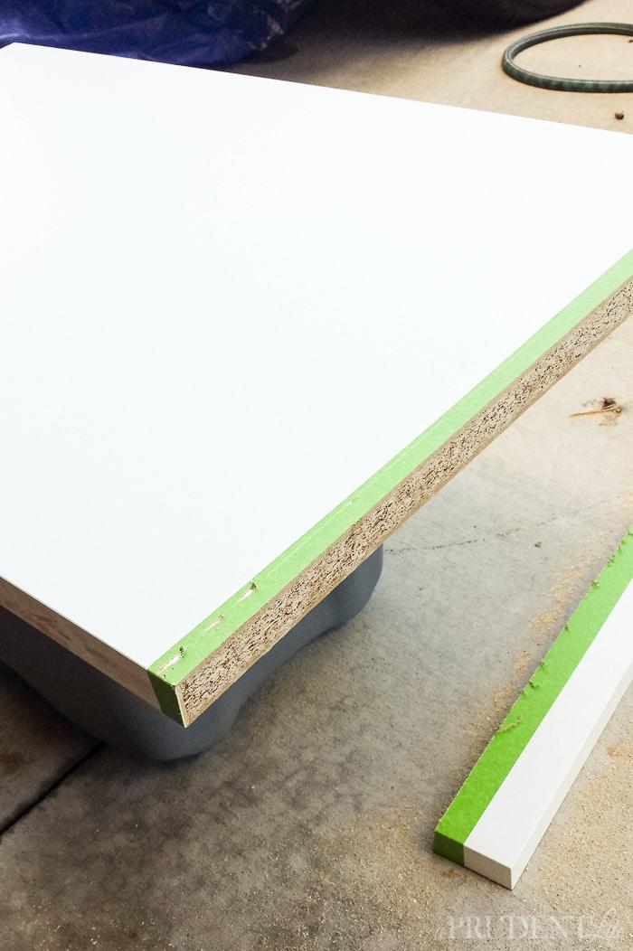 Cutting IKEA Countertop to Use in Garage