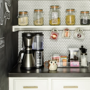 Organized Coffee Station