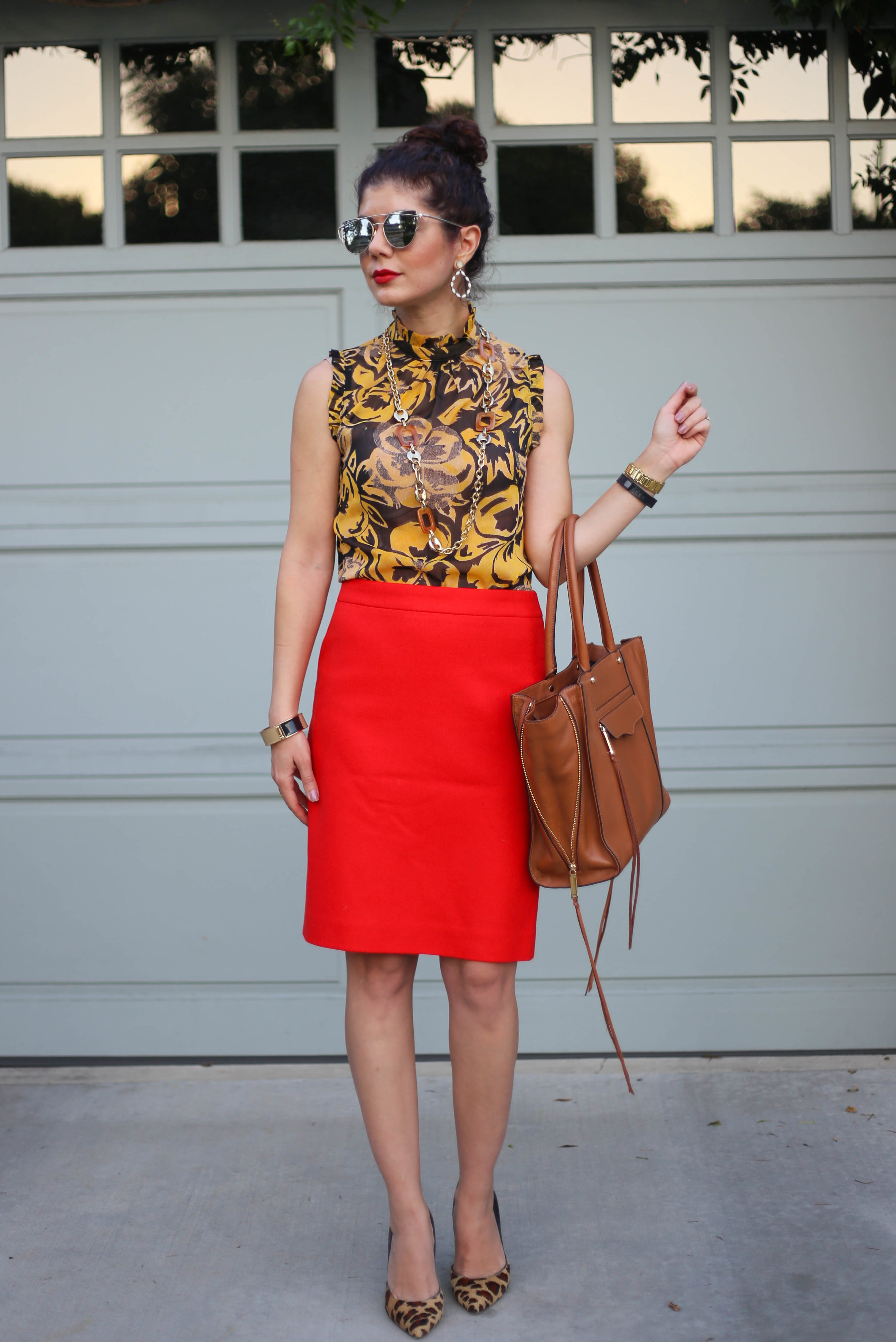 Mustard Yellow And Red A Fool Proof Fall Outfit Color Combination