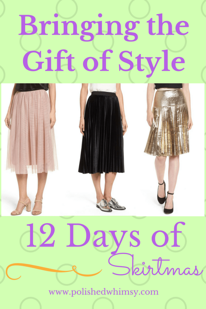 12 days of skirtmas. Styling multiple skirt outfits. | skirtmas | everyday skirts
