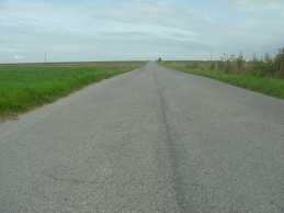 Polish farm road
