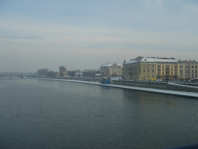 Vistula river Podgorze